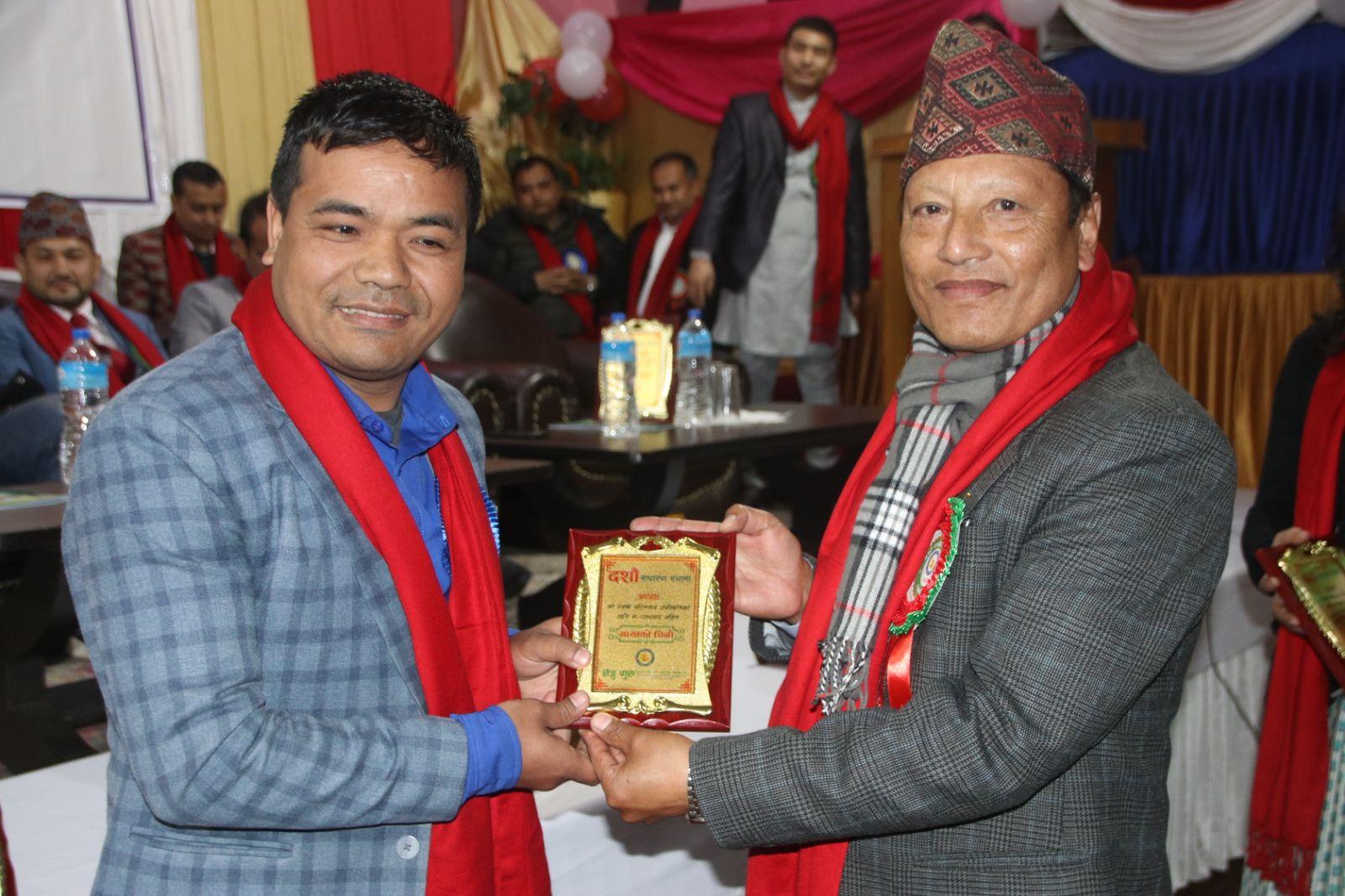 Ganga Lal Shrestha CEO ByaktiBikash Sakos