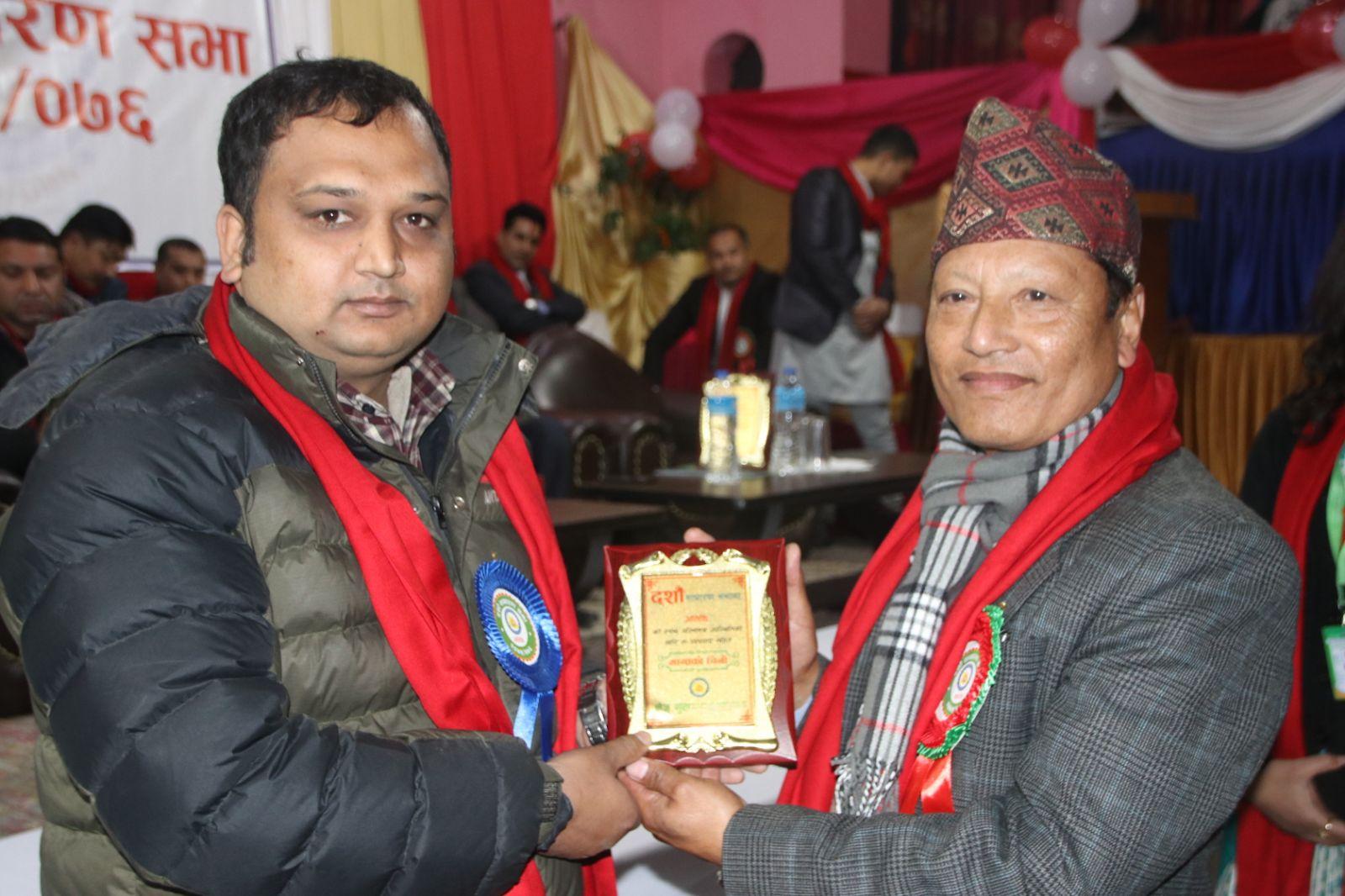 Rabindra Adhikari- Listed valuator of NCBL