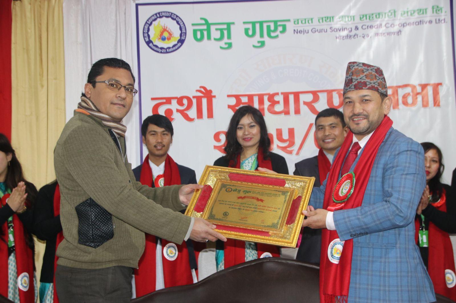 Sulab Shrestha - Best Customer Award